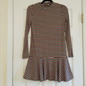 Dresses & Skirts - **Striped drop waist dress**